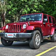 2011 Jeep Wrangler Poster