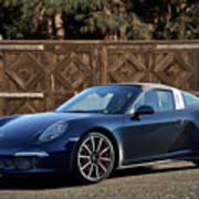 2014 Porsche 911 Targa 4s I Poster