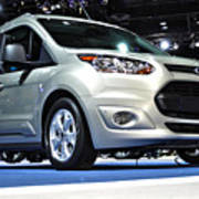 2014 Ford Transit Connect Wagon Poster