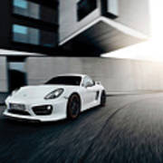 2014 Techart Porsche Cayman Poster