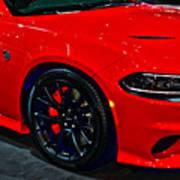 2015 Dodge Charger Srt Hellcat Poster