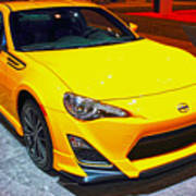 2015 Scion Fr-s Number 2 Poster