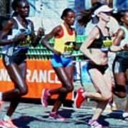 2016 Boston Marathon Winner 2 Poster