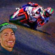 2016 Fim Superbike Nicky Hayden Poster