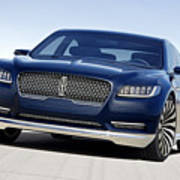 2016 Lincoln Continental Concept Poster