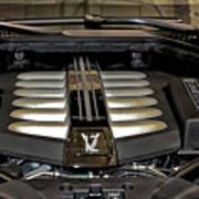 2016 Rolls Royce Wraith Engine Poster