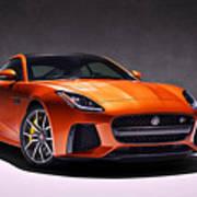 2017 Jaguar F Type Poster