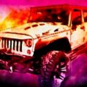 2017 Jeep Unlimited Beast Poster