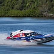 2017 Taree Race Boats 01 Poster