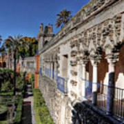 Alcazar Seville Sevilla Andalucia Spain Poster