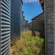 Back Alley On The Prairies Poster