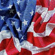 American Flag 40 Poster