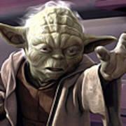 Star Wars On Art Poster