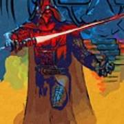 Video Star Wars Art Poster