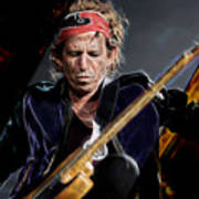 Keith Richards Collection Poster