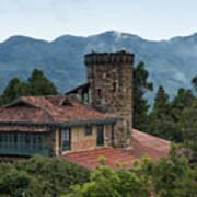 Bogota Cerro De Monserrate Poster