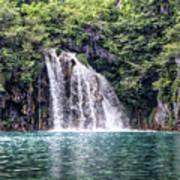 Plitvice Lakes National Park Croatia Poster