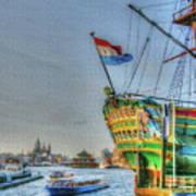 264 Amsterdam Poster