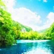Nature Art Landscape Poster