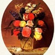 bs-flo- James Henry Wright- Flower Still Life James Henry Wright Poster