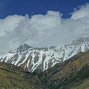 2d07509 High Peaks In Lost River Range Poster