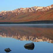2da5931 Steens Mountain Sunrise Reflect Poster