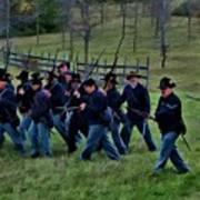 2nd Wi Infantry Black Hats Poster