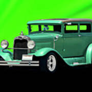 1930 Ford Tudor Sedan Poster