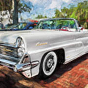 1959 Lincoln Continental Town Car Mk Iv Painted  Poster