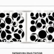 Abstract Monochrome Poster