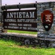 Antietam Battlefield National Park  Poster