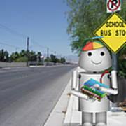 Back To School Little Robox9 Poster