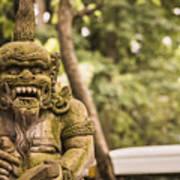 Bali Sculptures Poster