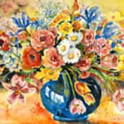 Blue Vase Poster