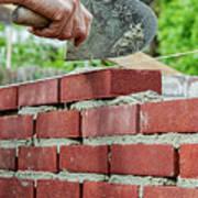 Bricklaying Poster