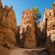 Spires On Navajo Trail Poster