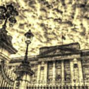 Buckingham Palace Vintage Poster
