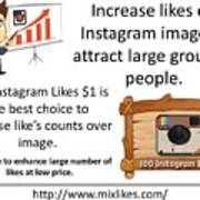 Buy Instagram Likes $1 Poster