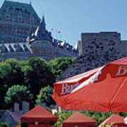 Chateau Frontenac In Quebec City Poster