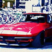 Chevrolet Corvette Poster