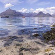 Cuillin Mountains From Elgol Poster