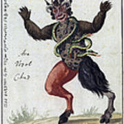 Demonology, 18th Century Poster