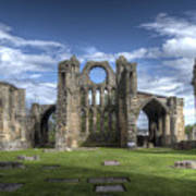 Elgin Cathedral Poster