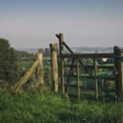 Farm Fields In Belgium Poster
