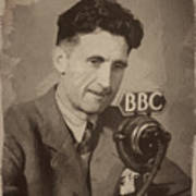 George Orwell 1 Poster