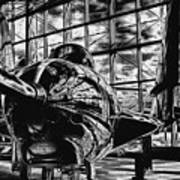 Grumman F9f-8 Cougar Poster