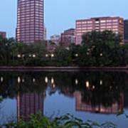 Hartford Skyline Panorama Poster