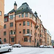 Helsinki At November Poster