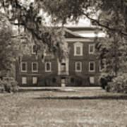 Historic Drayton Hall In Charleston South Carolina Poster by Dustin K Ryan