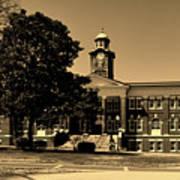 Historic White Hall - Tuskegee University Poster